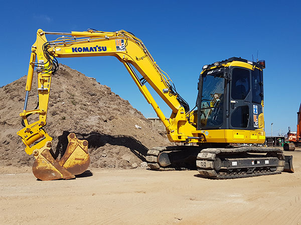 Hawe Earthmoving Excavator Hire Bundaberg