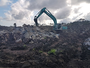 Hawe Earthmoving Land Clearing & Site Preparation Bundaberg