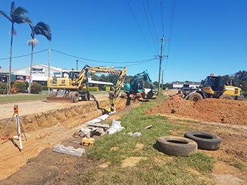 Hawe Earthmoving Cut & Fill / Land Levelling Bundaberg