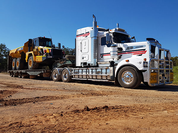 Hawe Earthmoving Transport Heavy Haulage Bundaberg