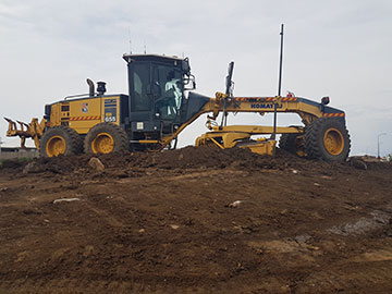 Hawe Earthmoving Grader Hire Bundaberg