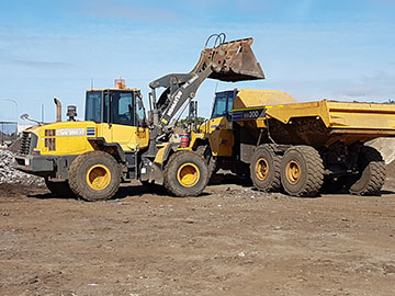 Hawe Earthmoving Removal of Dirt Bundaberg