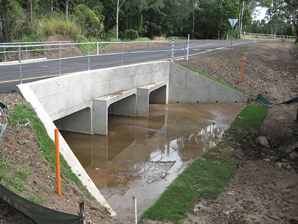 hawe-earthmoving-projects-Box-culvert-structure-for-car-park-over-flow-at-Bundaberg-Base-Hospital-bundaberg