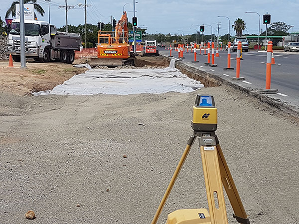 hawe-earthmoving-projects-Turning-Lane-installation-Takalvan-St-Bundaberg-for-new-Coles-bundaberg