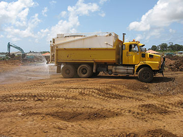 Hawe Earthmoving Water Truck Hire Bundaberg