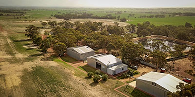 WhiteGum Farm Caravan park and Air Park
