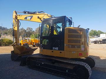 Hume Hire 14ton excavator Hire lavington