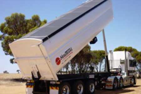Hume Hire end tipper trailer hire lavington