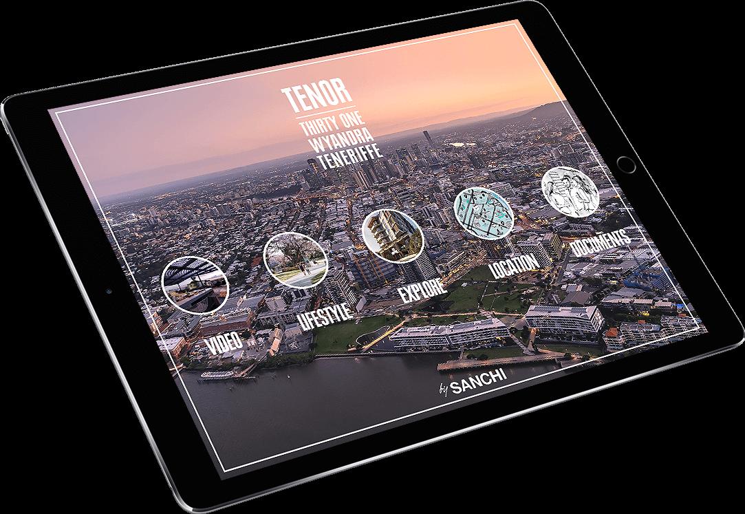 Sanchi Development Tenor iPad