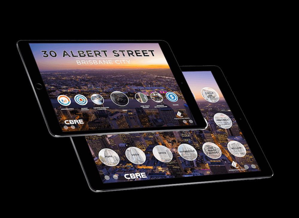 Cbre iPad Image
