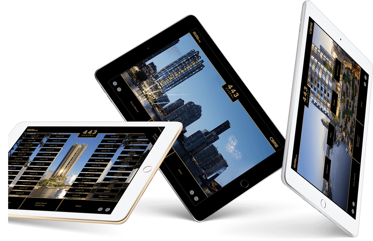 Cbus Property 443 Queen Street iPads