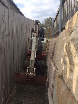 Residential Limited Access Excavation