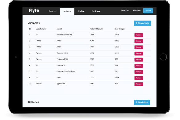 Flyte for Tablet