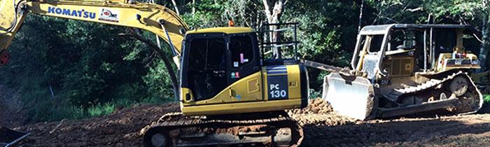 kellys-Earthworks-excavator-hire-brisbane