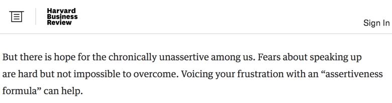 La comunicación asertiva según la revista Harvard Business Review