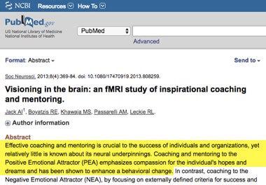 Líder Coach - los efectos del coaching en el cerebro