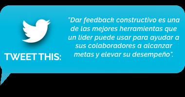 tweet - Numero 8: Retroalimentación constructiva