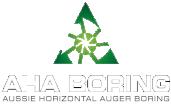 AHA Boring Logo