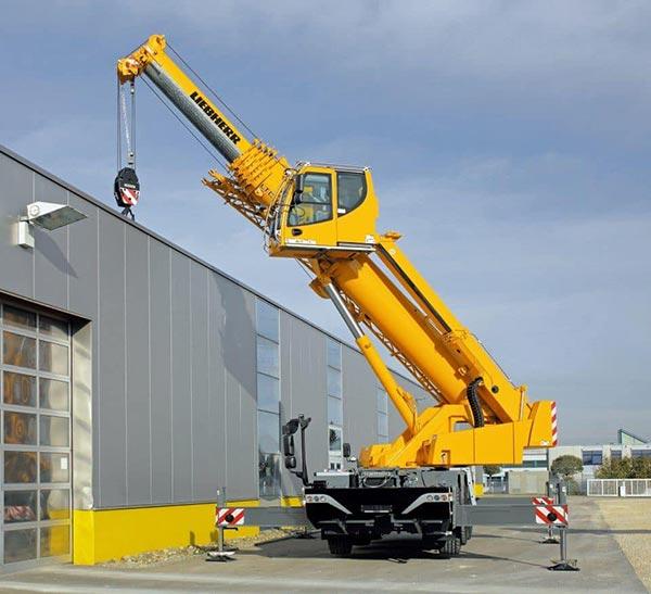 Maximus Cranes 50 Tonne Liebherr Mobile Slewing Crane for hire