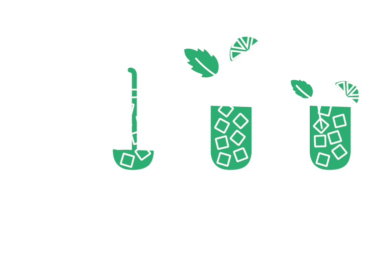 Instructions for the prefect serve. Ice, pour, add lime and mint and stir.
