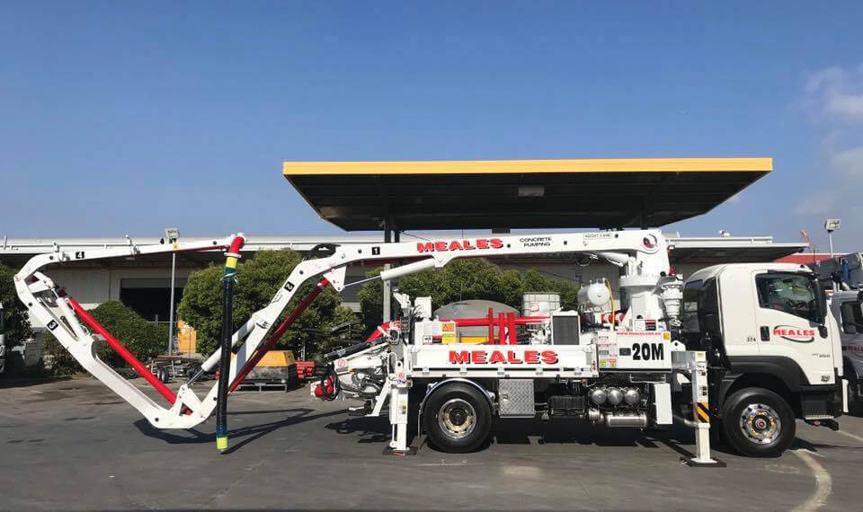mobile concrete boom pumping for hire rates next generation concrete pumping