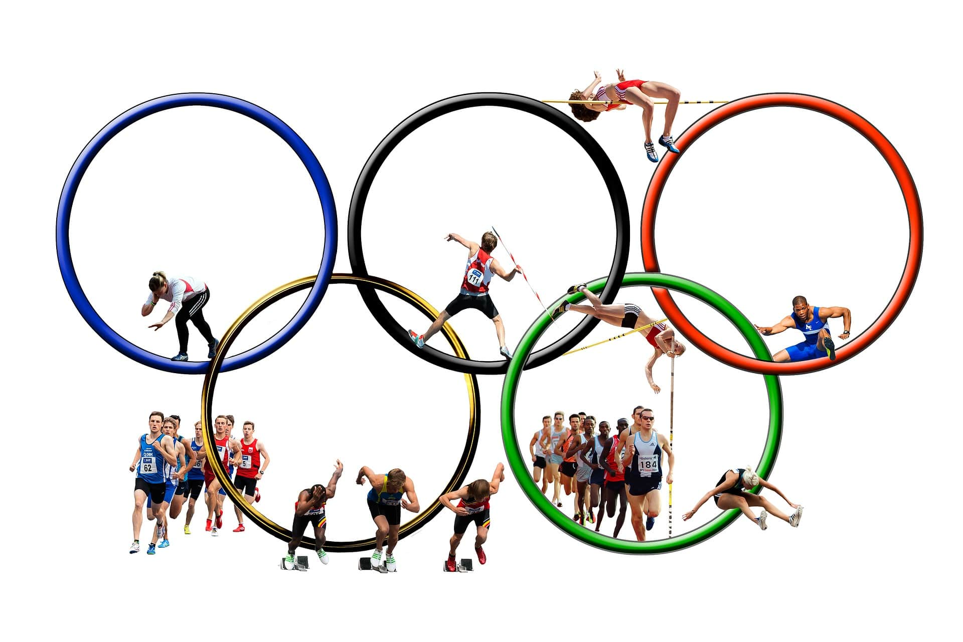 hands olympic rings