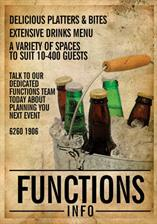 Functions info poster