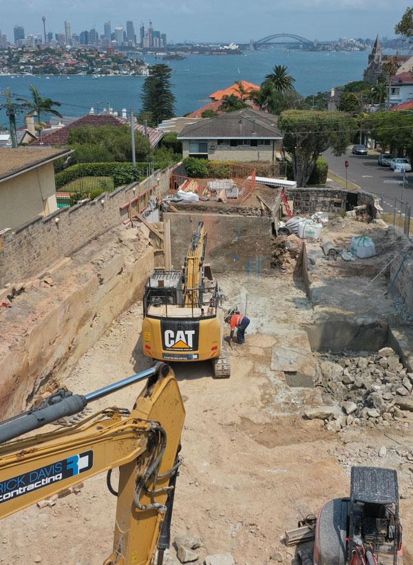 Rick-Davis-Contracting-Demolition-Site-Sydney