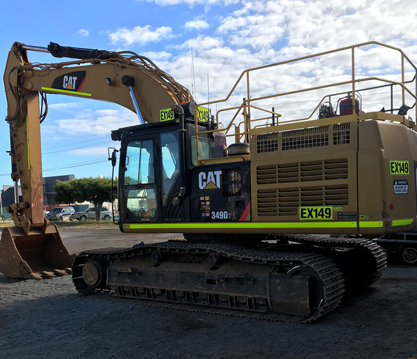 CAT 349D Excavator for Hire