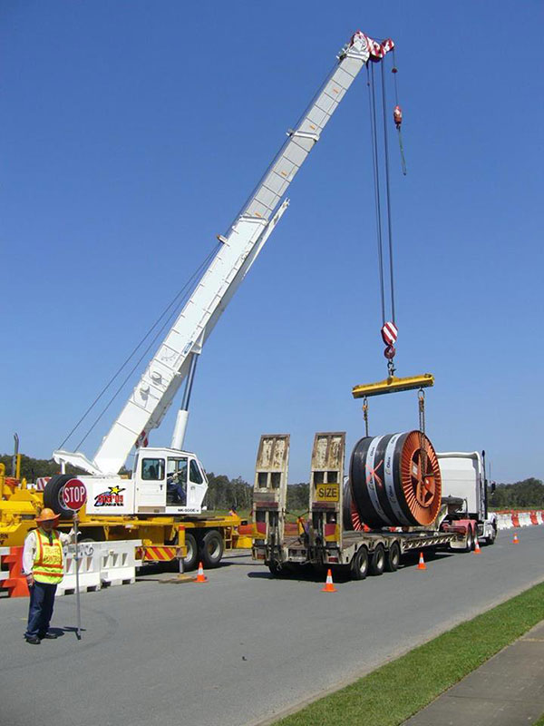 Scope Cranes & Logistics -Cable-transport-Brisbane