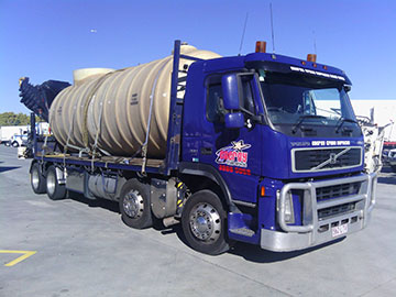 Scope Cranes & Logistics hiab crane truck Geelong