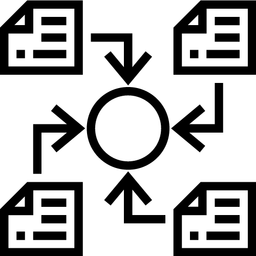 Central Processing and Storage Icon
