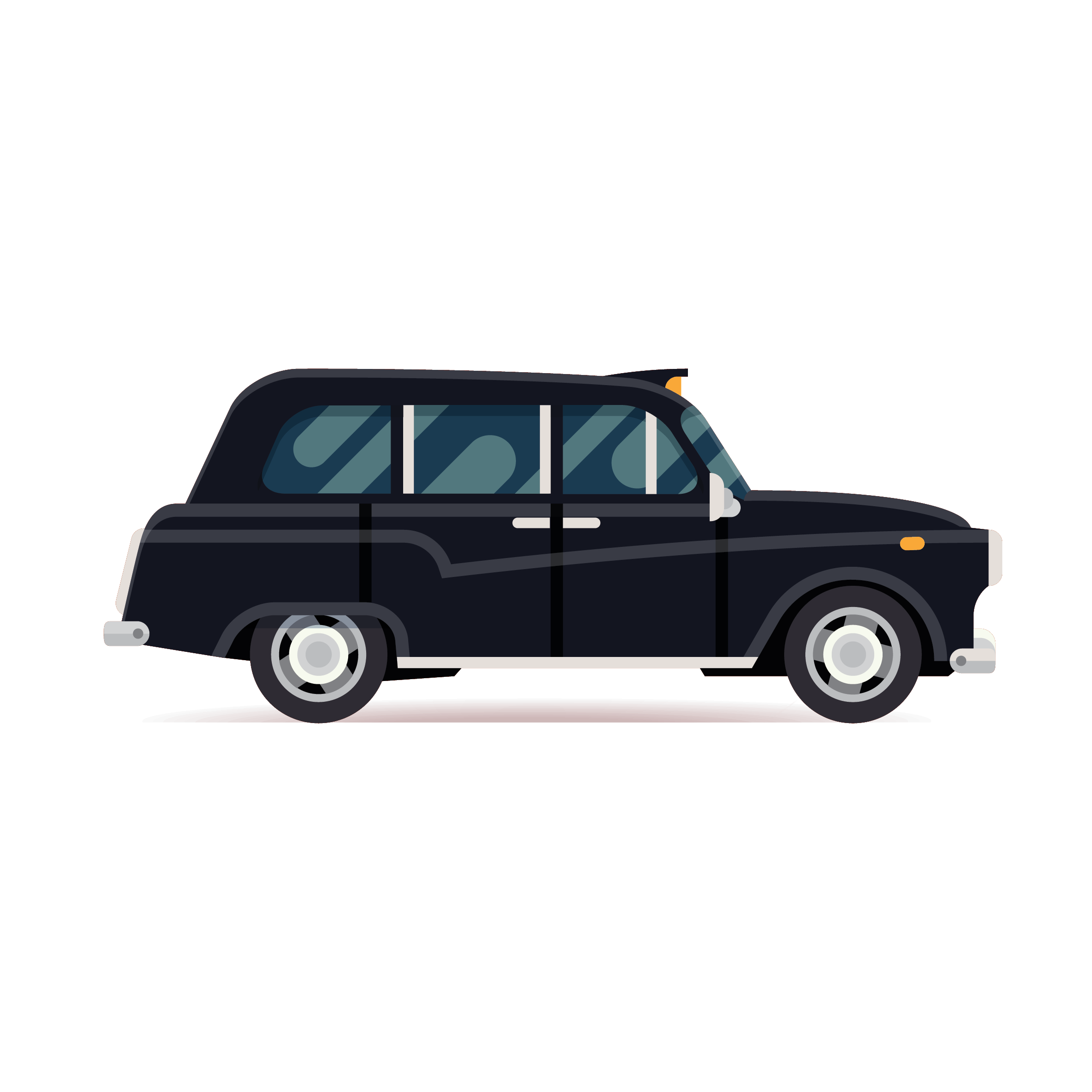Working with Black Cabs is great as we are able to offer the passengers a unique British service.