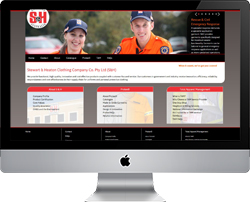 Stewart and Heaton Clothing website