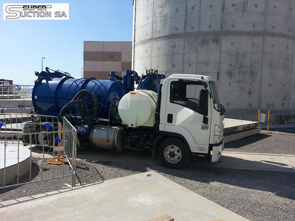 Super Suction SA hydro excavation vacuum excavation truck for hire Adelaide