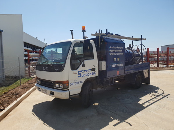 Super Suction SA jet rodding with vacuum sucker truck Adelaide