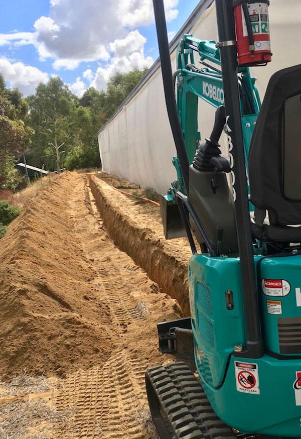 Sweeney Hire Residential Excavation Peel