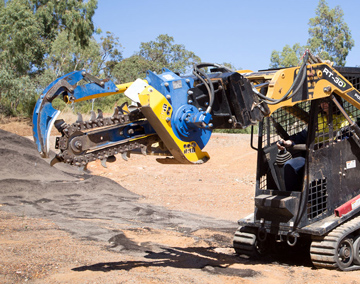 Sweeney Hire Trencher Hire