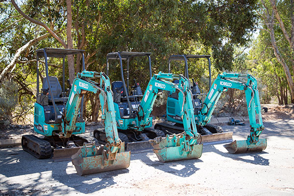 Sweeney Hire Excavator Hire and Trailer Hire Peel