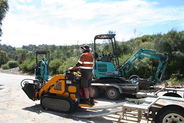 Sweeney Hire Hardscaping & Landscaing Peel