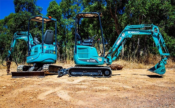 Sweeney Hire Excavator Hire on Residential Project