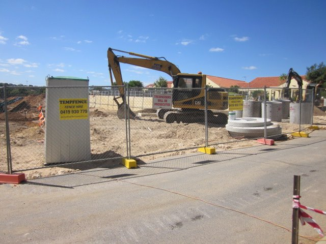 Hire Construction Fencing from Temp Fence WA