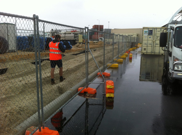 Construction Fence Hire Throughout Perth