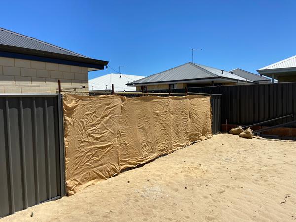 Demolition Fence Hire Extras