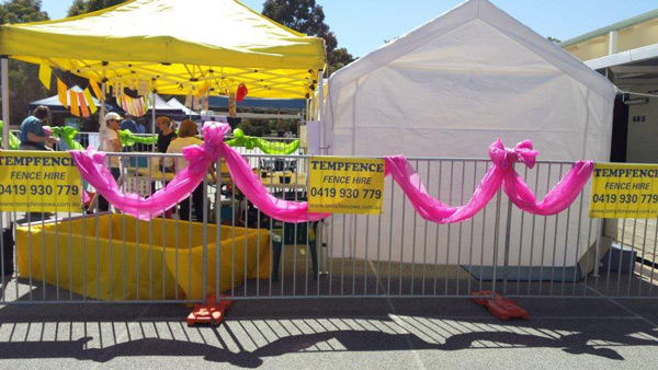 Event Fence Hire Throughout Perth