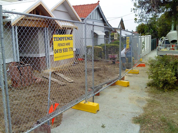 Residential Fence Hire Throughout Perth