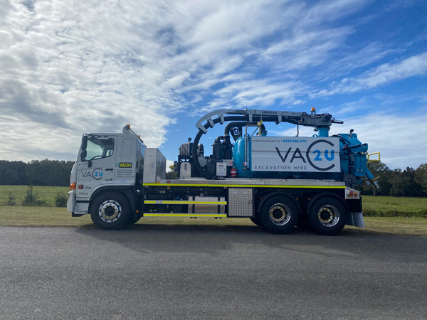 Vac2U VTI 7000L 6' Boom Hydro/Vacuum Excavation Unit