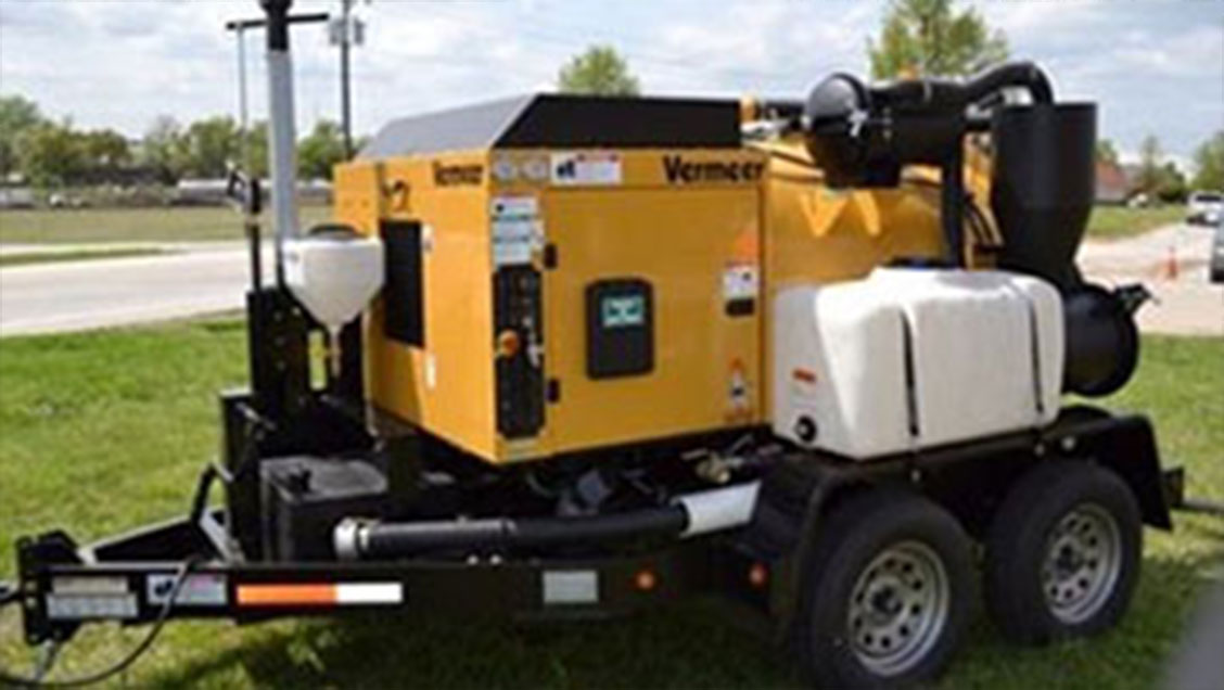 Vermeer VX250 (1000L) Trailer Unit for Hire