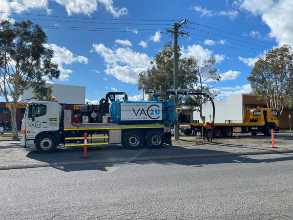VTI 7000L 6' Boom Hydro/Vacuum Excavation Unit Hire