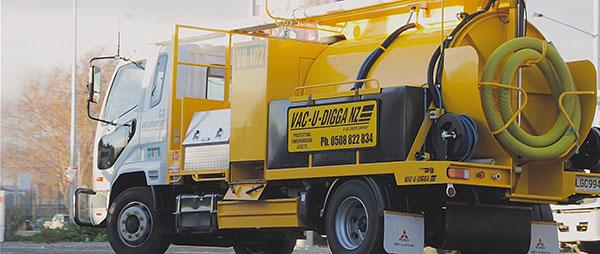 Vac U Digga NZ 3000L Vacuum Truck Hire